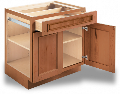 kitchen cabinet with drawer