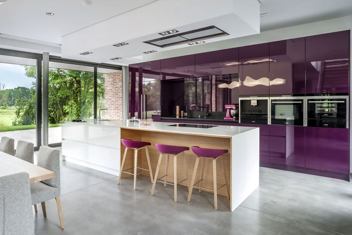 kitchen colour trends 2021