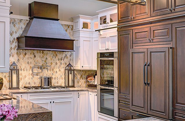 traditional kitchen painting